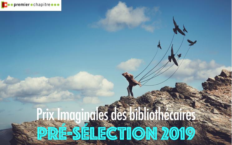 Prix Imaginales des bibliothécaires - la présélection 2019