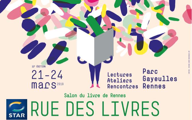 sélection mars 2019 bis - rue des livres 2019