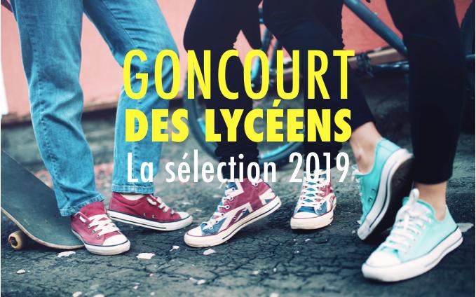 Goncourt des lycéens - édition 2019