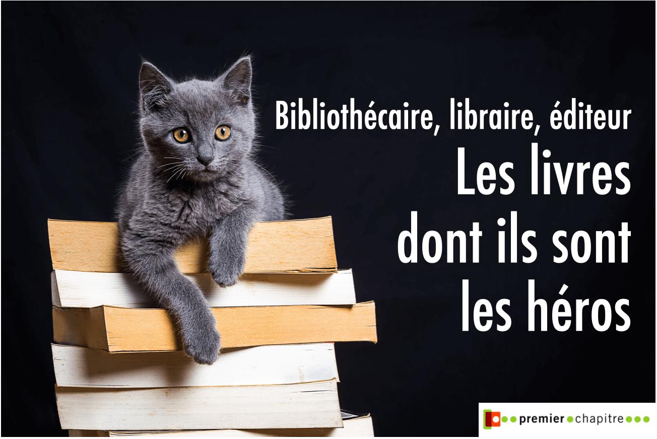 Sélection janvier 2021 - Bibliothécaire, libraire, éditeur, les livres dont ils sont