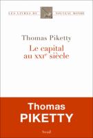 Le capital au XXIe siècle - Thomas Piketty