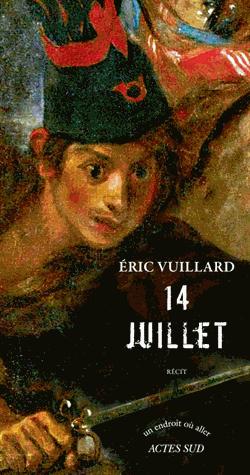 14 juillet de Eric Vuillard