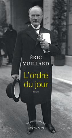 L'ordre du jour de Eric Vuillard