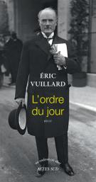 L'ordre du jour - Eric Vuillard