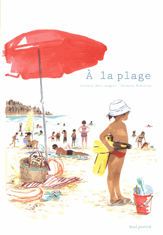 À la plage                 de Susanna Mattiangeli