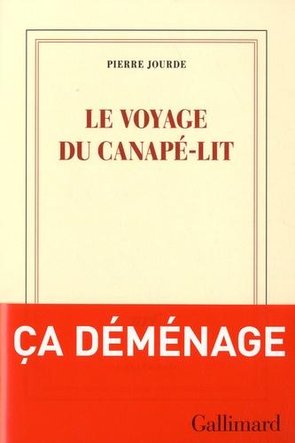 Le voyage du canapé-lit de Pierre Jourde