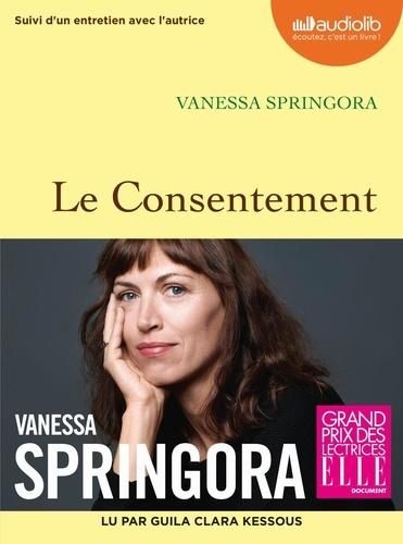 Le consentement - version audio de Vanessa Springora