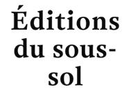 Editions du Sous-Sol